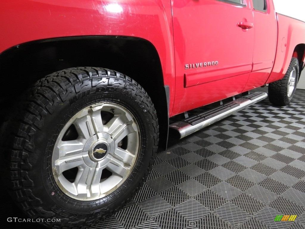2012 Silverado 1500 LT Extended Cab 4x4 - Victory Red / Ebony photo #8