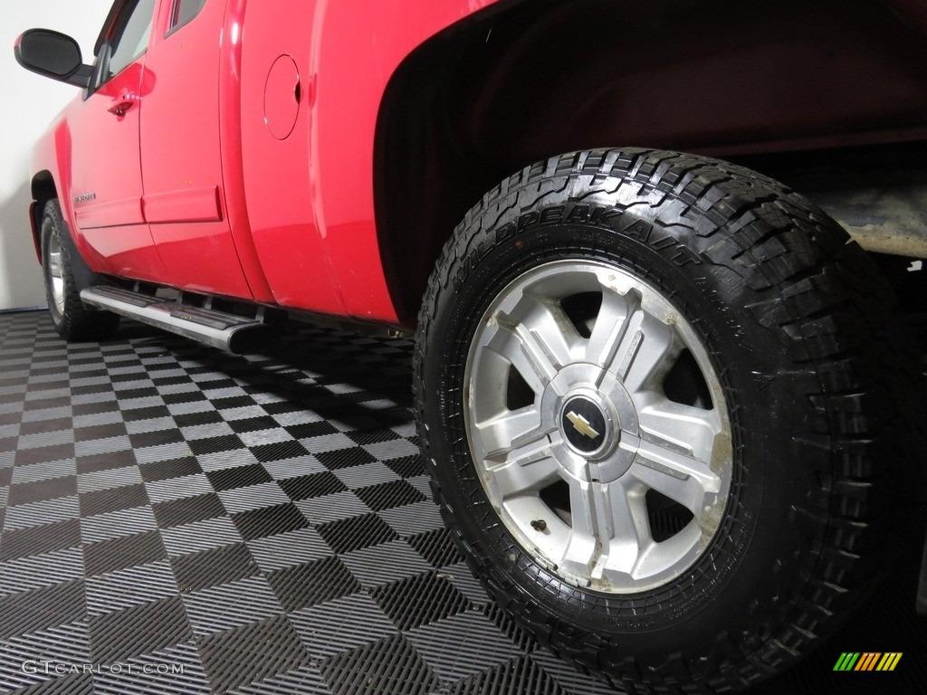 2012 Silverado 1500 LT Extended Cab 4x4 - Victory Red / Ebony photo #10
