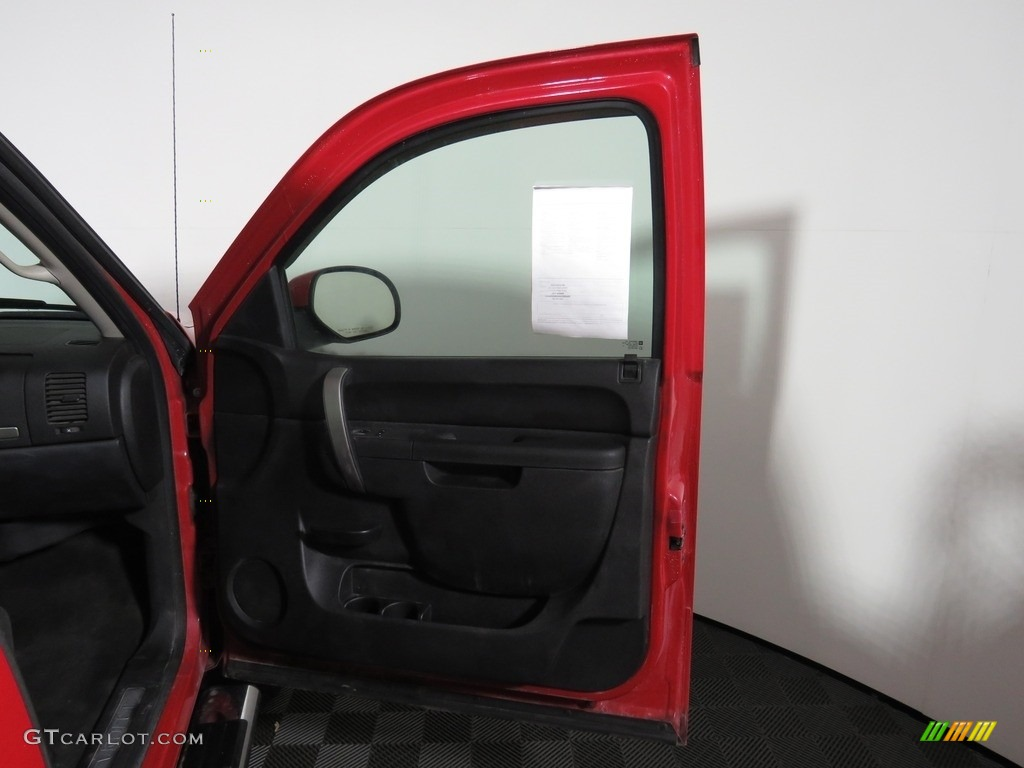 2012 Silverado 1500 LT Extended Cab 4x4 - Victory Red / Ebony photo #24