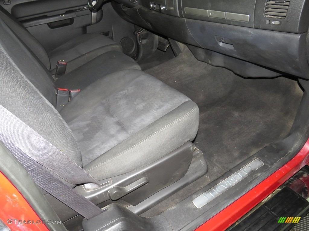 2012 Silverado 1500 LT Extended Cab 4x4 - Victory Red / Ebony photo #25