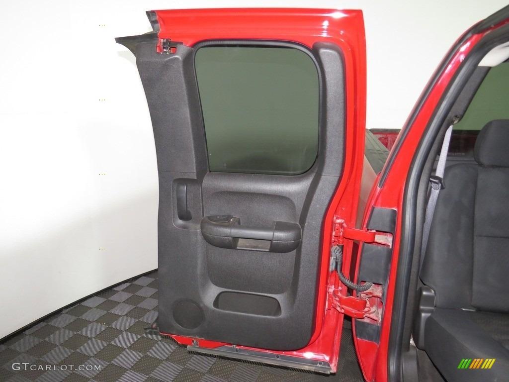 2012 Silverado 1500 LT Extended Cab 4x4 - Victory Red / Ebony photo #27