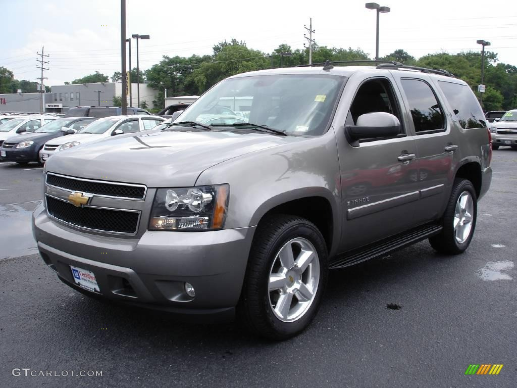 2007 graystone metallic chevrolet tahoe ltz 4x4 13292778 car color galleries. Black Bedroom Furniture Sets. Home Design Ideas