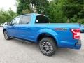 2019 Velocity Blue Ford F150 XLT SuperCrew 4x4  photo #4