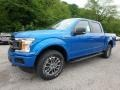 2019 Velocity Blue Ford F150 XLT SuperCrew 4x4  photo #6