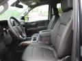 Jet Black Front Seat Photo for 2019 Chevrolet Silverado 1500 #133433788