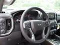 Jet Black Steering Wheel Photo for 2019 Chevrolet Silverado 1500 #133433809