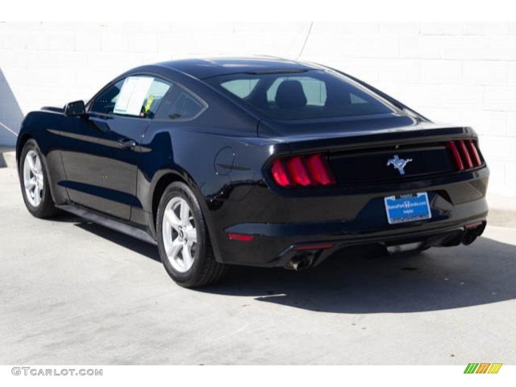 2015 Mustang V6 Coupe - Black / Ebony photo #2