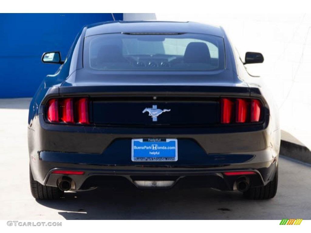 2015 Mustang V6 Coupe - Black / Ebony photo #9