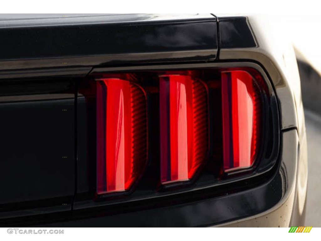 2015 Mustang V6 Coupe - Black / Ebony photo #11