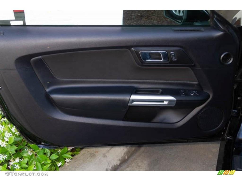 2015 Mustang V6 Coupe - Black / Ebony photo #21