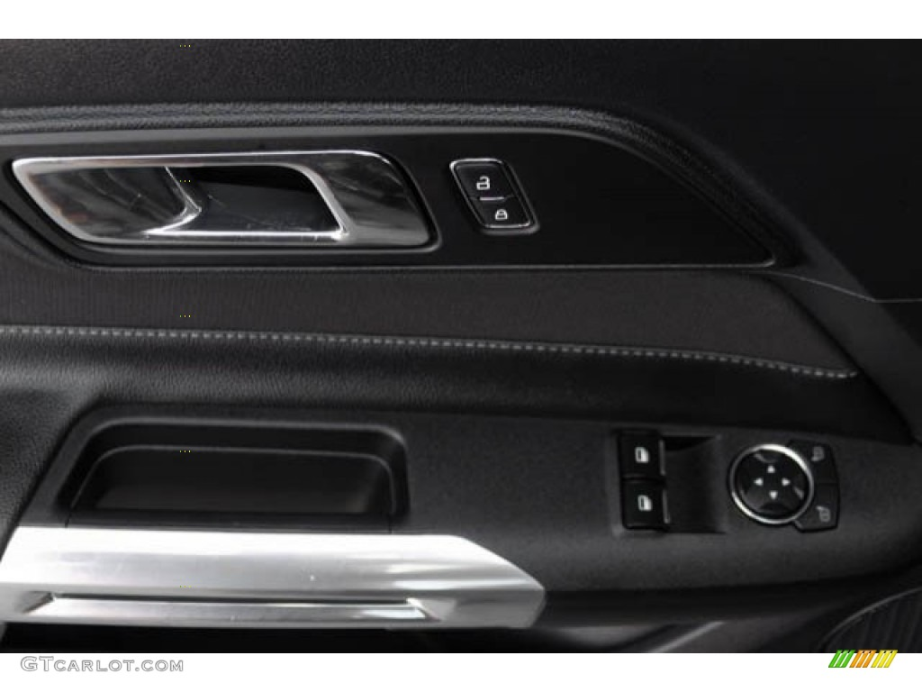 2015 Mustang V6 Coupe - Black / Ebony photo #22