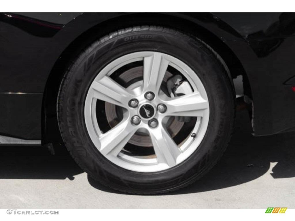 2015 Mustang V6 Coupe - Black / Ebony photo #25