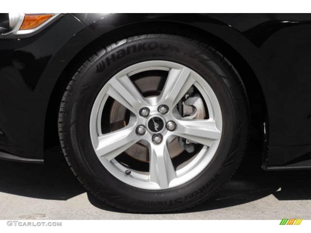 2015 Mustang V6 Coupe - Black / Ebony photo #26