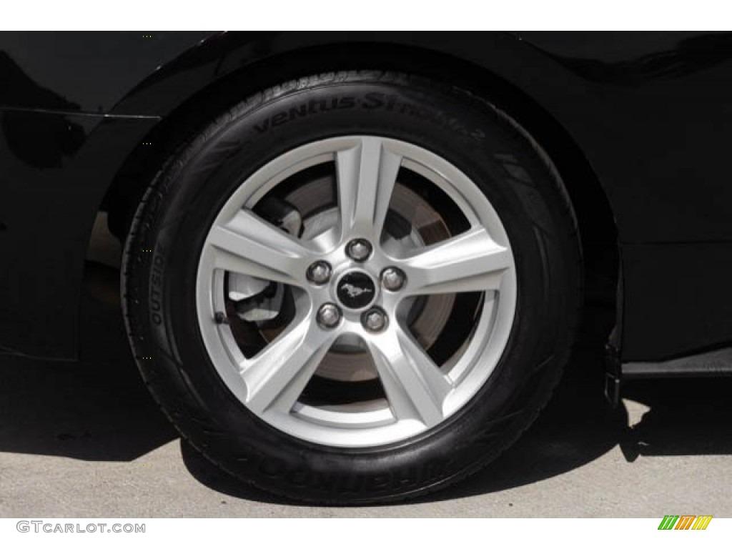 2015 Mustang V6 Coupe - Black / Ebony photo #27