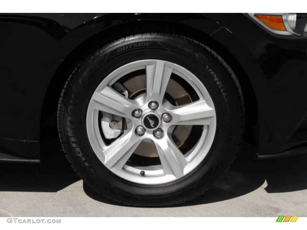 2015 Mustang V6 Coupe - Black / Ebony photo #28