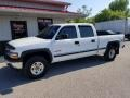 2002 Summit White Chevrolet Silverado 1500 LT Crew Cab 4x4  photo #1
