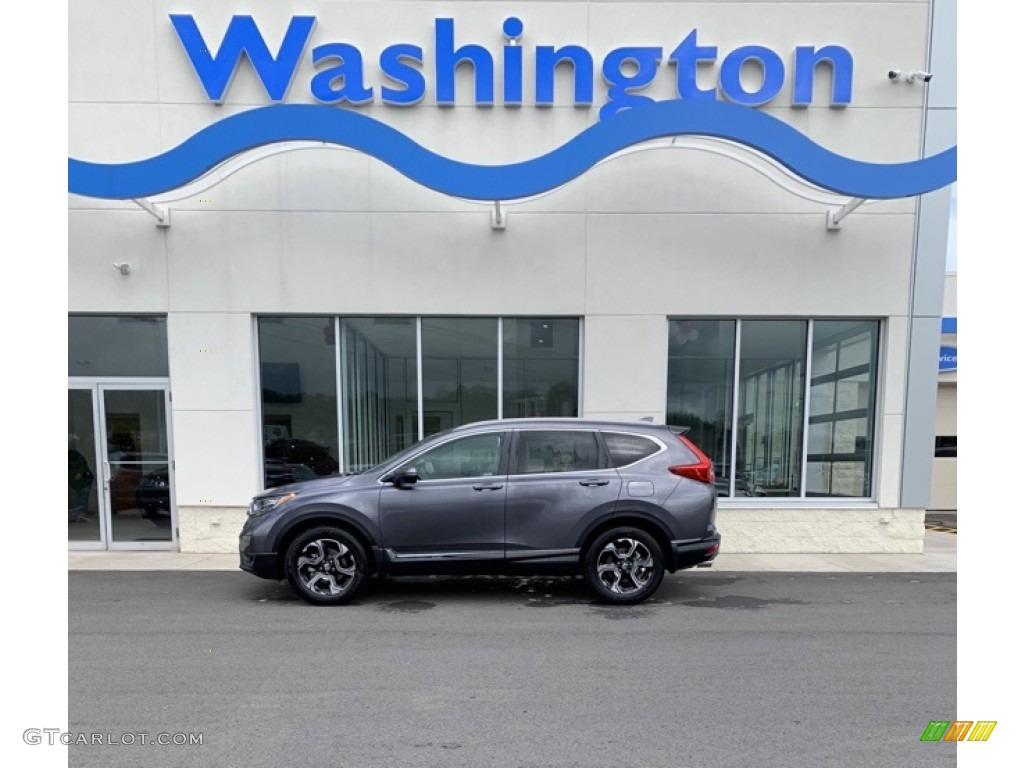 2019 CR-V Touring AWD - Modern Steel Metallic / Gray photo #1