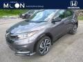 Modern Steel Metallic 2019 Honda HR-V Sport AWD
