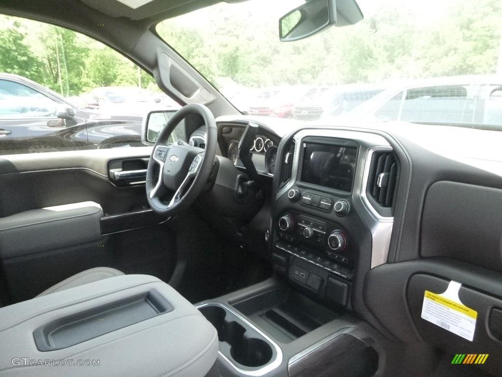2019 Silverado 1500 LTZ Crew Cab 4WD - Black / Gideon/Very Dark Atmosphere photo #8