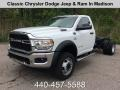 Bright White 2019 Ram 5500 Tradesman Regular Cab 4x4 Chassis