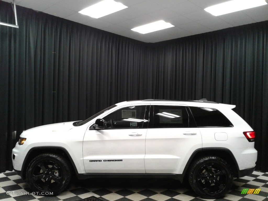 2019 Bright White Jeep Grand Cherokee Upland 4x4 133445071 Gtcarlot Com Car Color Galleries