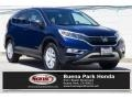 2016 Obsidian Blue Pearl Honda CR-V EX  photo #1