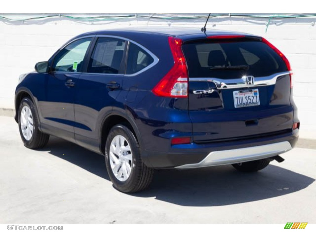 2016 CR-V EX - Obsidian Blue Pearl / Gray photo #2