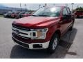 2019 Ruby Red Ford F150 XLT SuperCab 4x4  photo #1