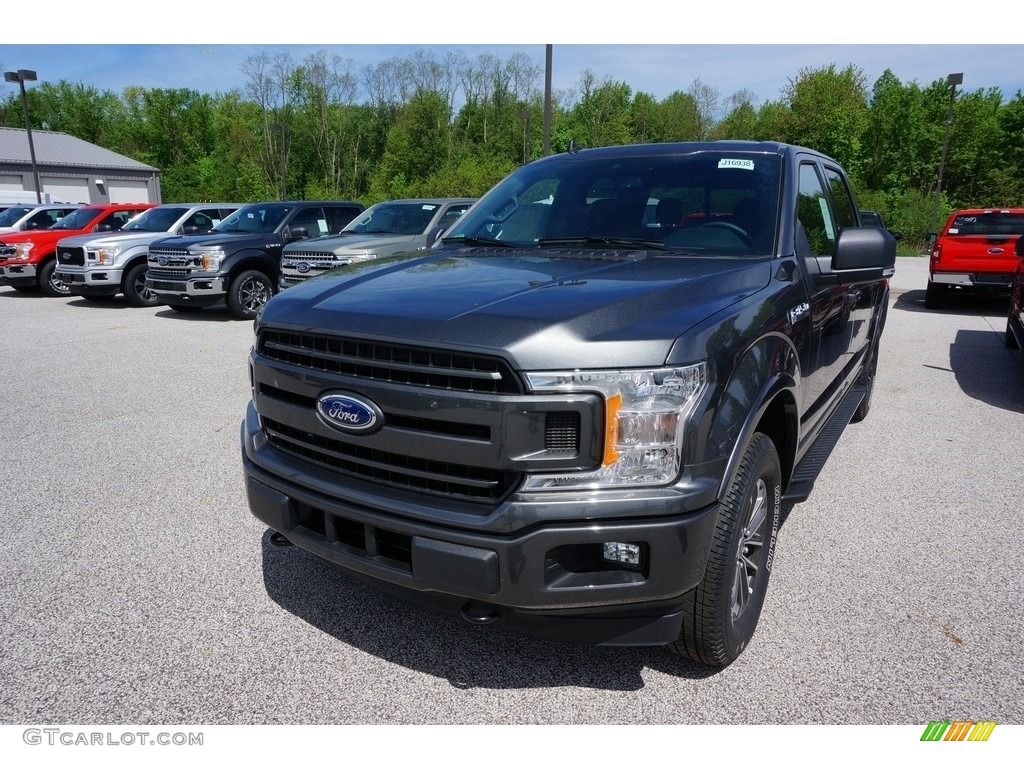 2019 F150 XLT SuperCrew 4x4 - Magnetic / Black photo #1