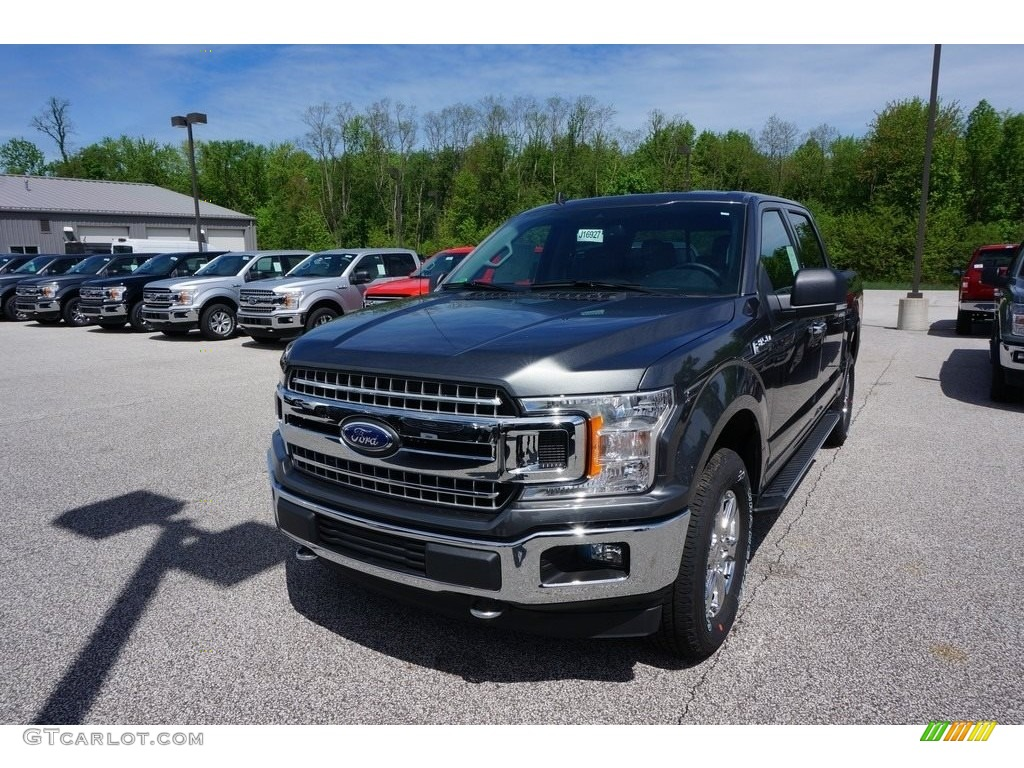 2019 F150 XLT SuperCrew 4x4 - Magnetic / Earth Gray photo #1