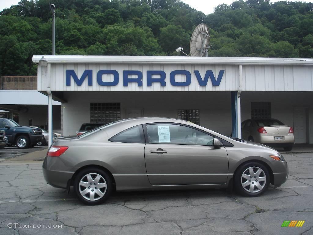 2006 Galaxy Gray Metallic Honda Civic LX Coupe #13302324 | GTCarLot ...