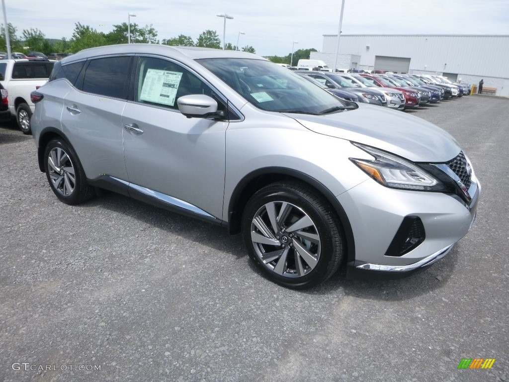 2019 Murano SL AWD - Brilliant Silver Metallic / Graphite photo #1