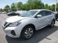 2019 Brilliant Silver Metallic Nissan Murano SL AWD  photo #8