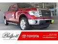 Ruby Red Metallic 2013 Ford F150 Lariat SuperCrew 4x4
