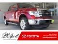 Ruby Red Metallic 2013 Ford F150 Lariat SuperCrew 4x4