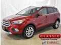 2017 Ruby Red Ford Escape Titanium 4WD #133461833