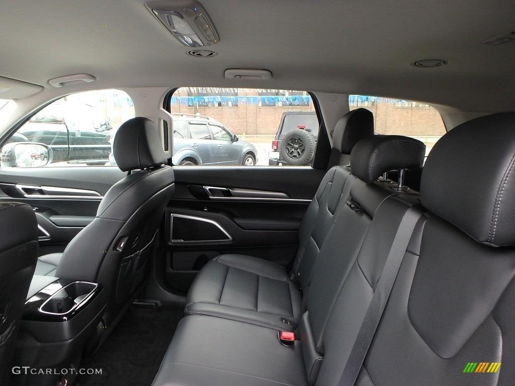Black Interior 2020 Kia Telluride Lx Awd Photo 133480753 Gtcarlot Com