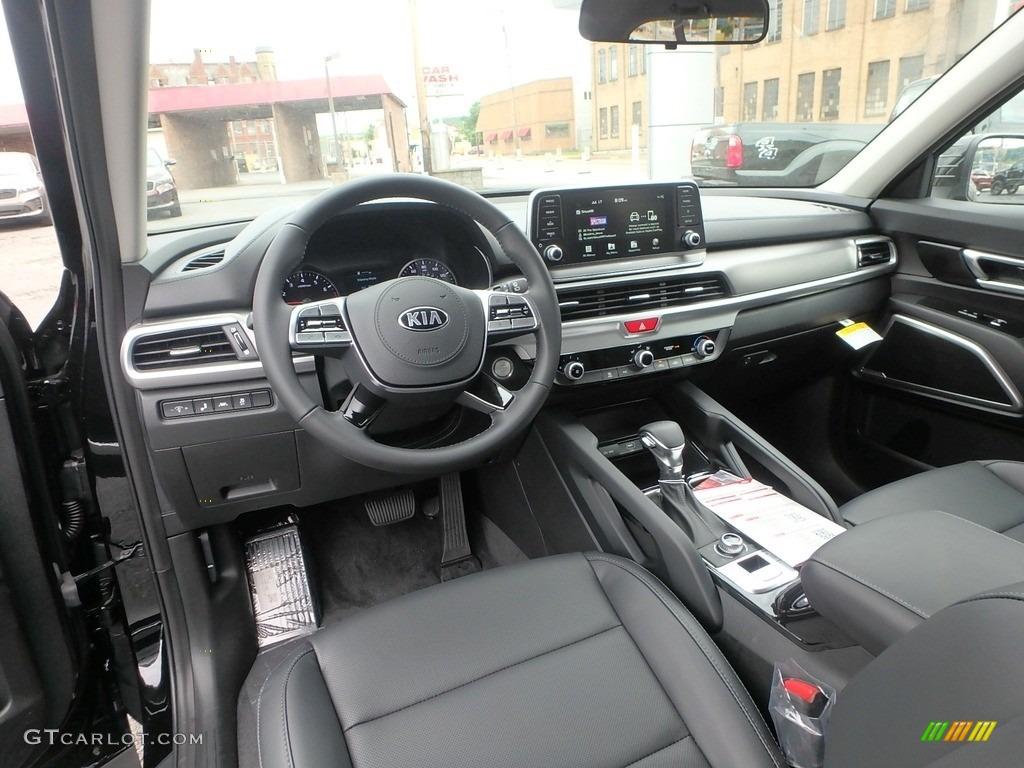 Black Interior 2020 Kia Telluride Lx Awd Photo 133480777 Gtcarlot Com