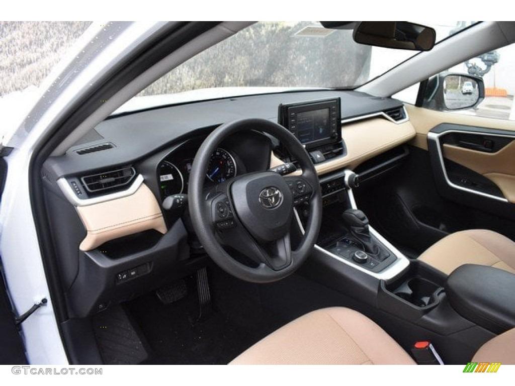 2019 Toyota Rav4 Le Awd Hybrid Interior Color Photos Gtcarlot Com