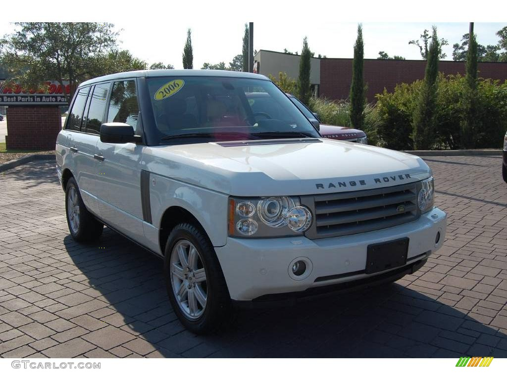 2006 chawton white land rover range rover hse 13313186. Black Bedroom Furniture Sets. Home Design Ideas