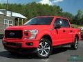 Race Red 2019 Ford F150 STX SuperCrew 4x4