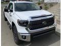 2019 Super White Toyota Tundra TRD Off Road Double Cab 4x4  photo #1
