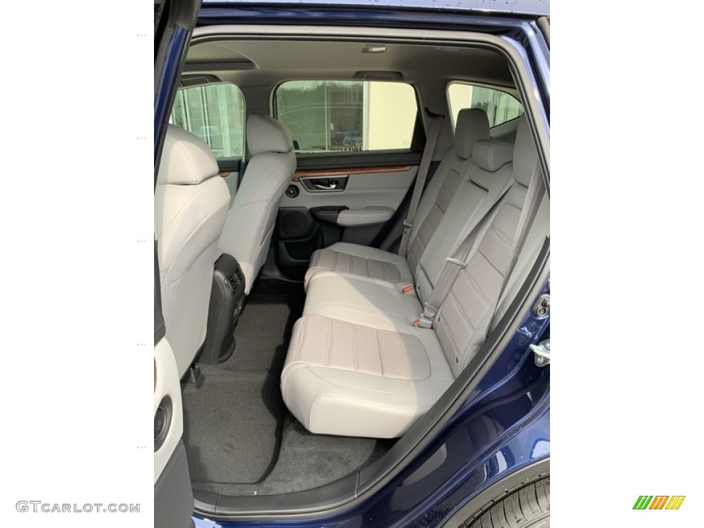 2019 CR-V EX-L - Obsidian Blue Pearl / Gray photo #19