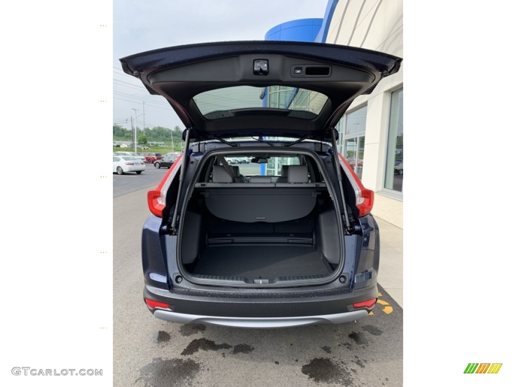 2019 CR-V EX-L - Obsidian Blue Pearl / Gray photo #20