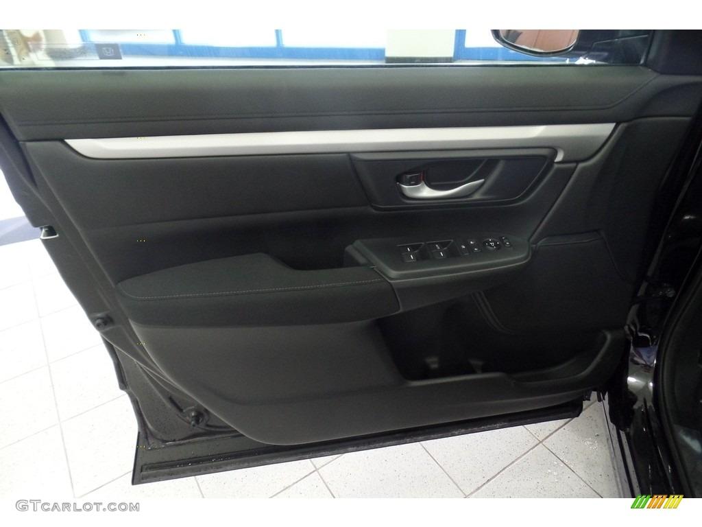 2019 CR-V LX AWD - Crystal Black Pearl / Black photo #5