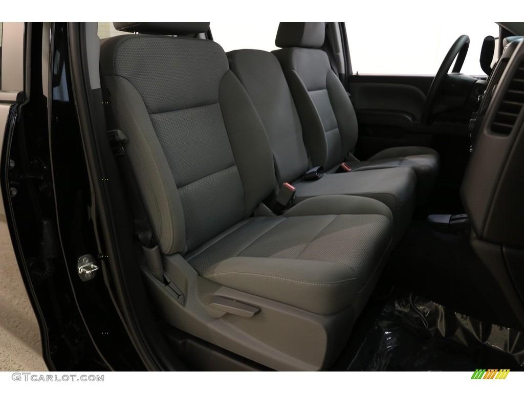 2018 Silverado 1500 Custom Crew Cab 4x4 - Black / Dark Ash/Jet Black photo #18