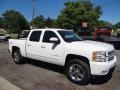 2012 Summit White Chevrolet Silverado 1500 LTZ Crew Cab 4x4  photo #1
