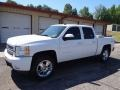 2012 Summit White Chevrolet Silverado 1500 LTZ Crew Cab 4x4  photo #5