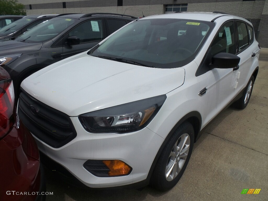 2019 Escape S - Oxford White / Chromite Gray/Charcoal Black photo #1
