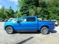 2019 Velocity Blue Ford F150 XLT SuperCrew 4x4  photo #5